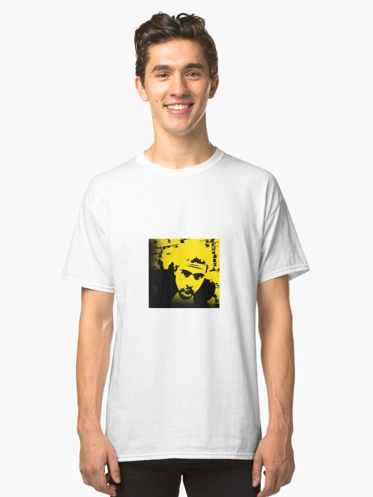 Vic Mensa Yellow Classic T-Shirt Front