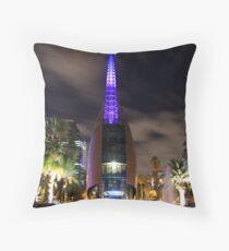 Perth Bell Tower (Swan Bells) Throw Pillow