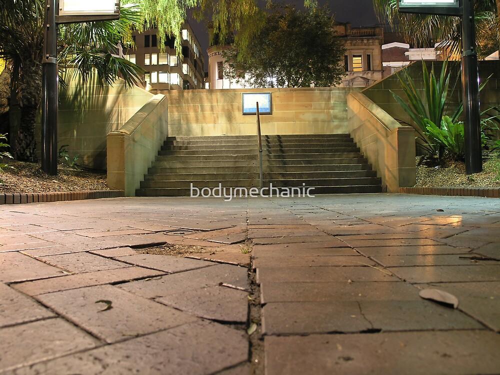the rocks steps @MCA by bodymechanic