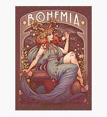 Lámina fotográfica Art Nouveau BOHEMIA