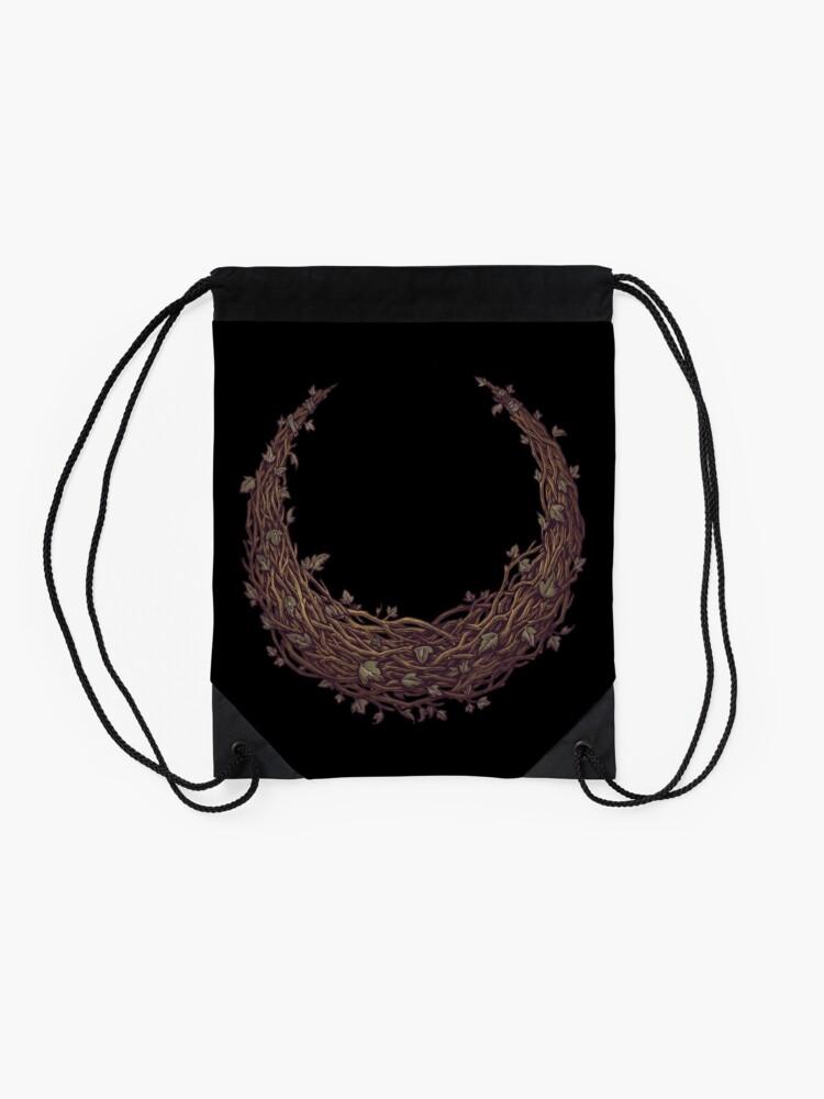 Alternate view of IVY MOON - BOTANICAL Drawstring Bag