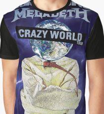 Scorpions Crazy world tour 2017 Graphic T-Shirt