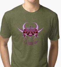 Fractal Insect Tri-blend T-Shirt