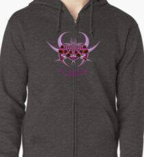 Fractal Insect Zipped Hoodie