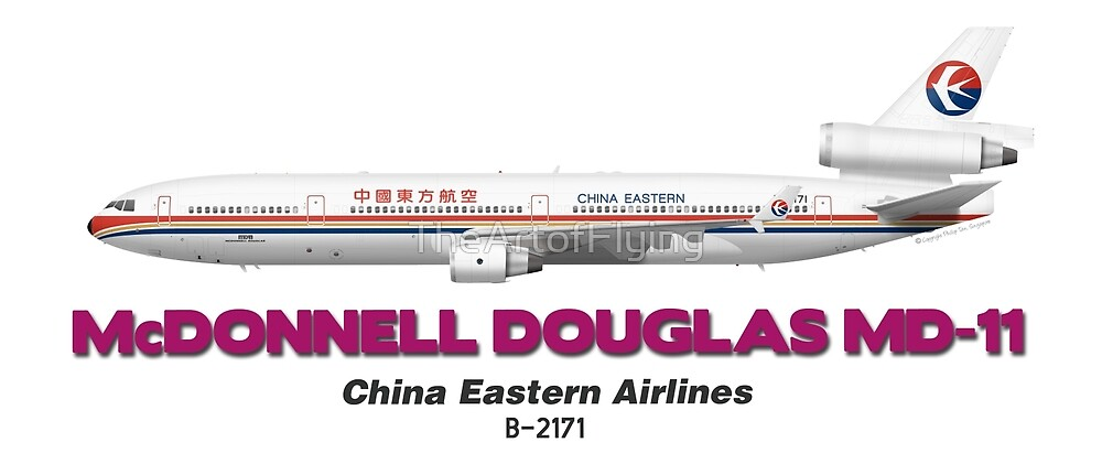 McDonnell Douglas MD-11 - China Eastern Airlines by TheArtofFlying