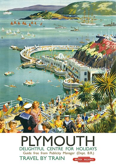 Plymouth Delightful Centre For Holidays by vintagetravel