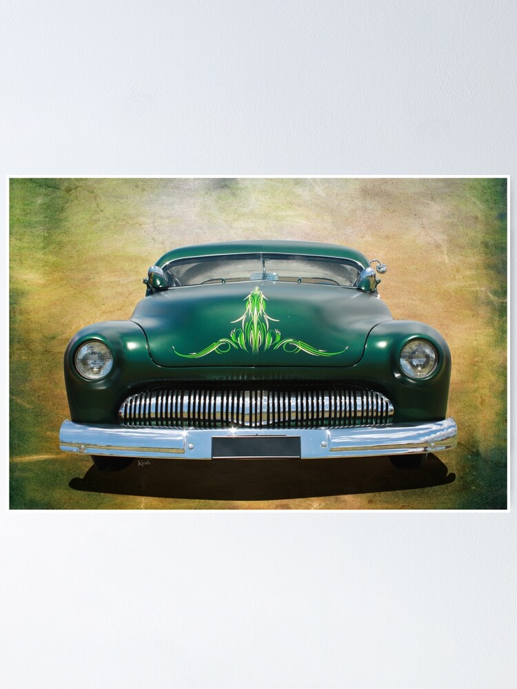 Pinstripes Poster By Cars Redbubble