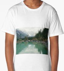 Turquoise lake Long T-Shirt