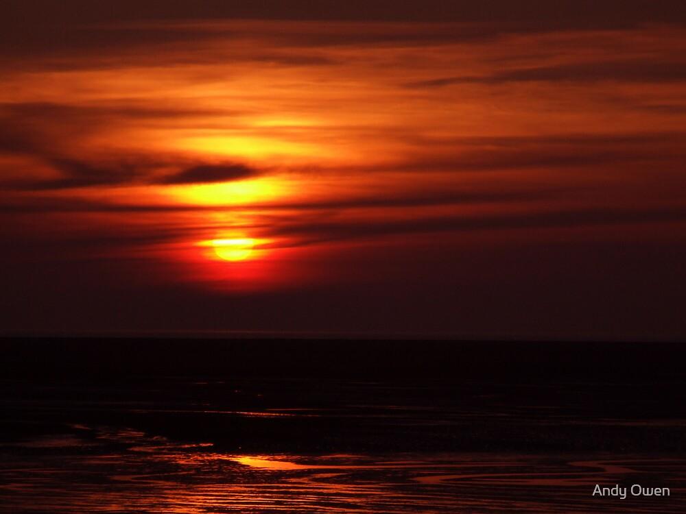 Hoylake sunset by Andy Owen