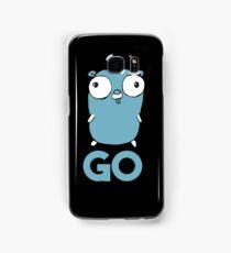 Golang Gopher GO ,Lang Programming Programmer IT CS Samsung Galaxy Case/Skin
