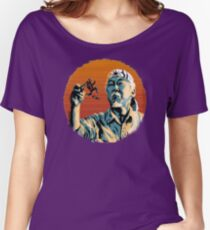 Mr. Miyagi & Marty McFly Women's Relaxed Fit T-Shirt
