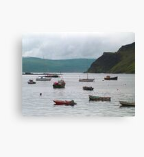 Sheltered bay Canvas Print