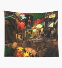 Donkey Kong Game Room Wall Tapestry