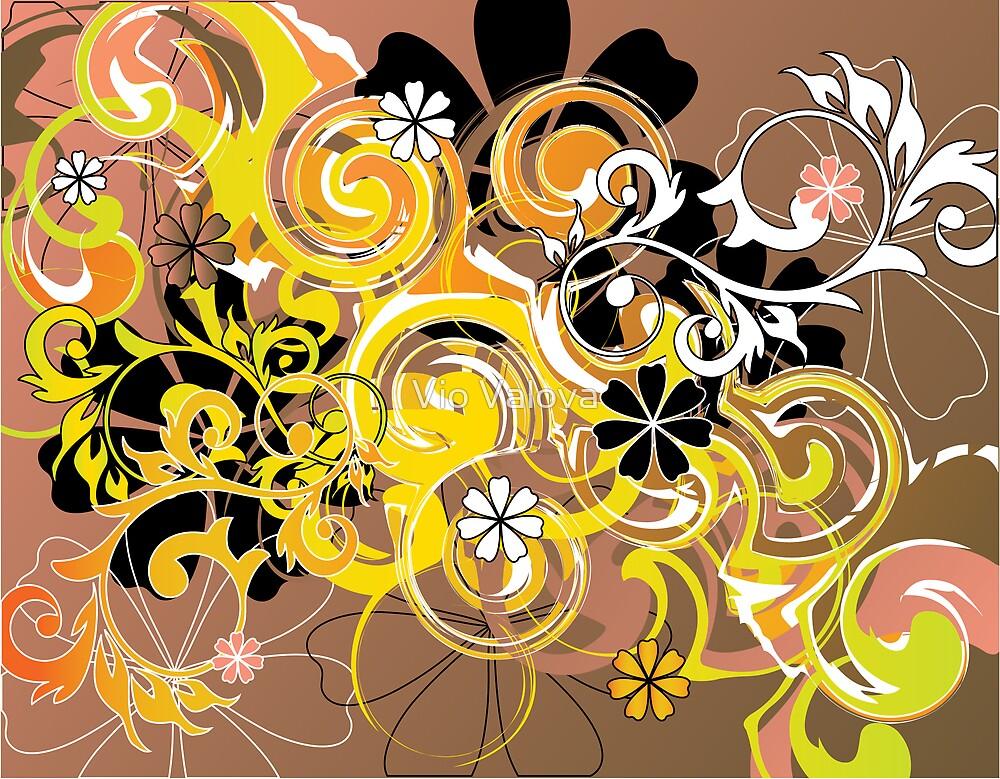 flowers&spirals by VioDeSign