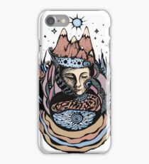 Goddess of the Carpathian Mountains iPhone Case/Skin