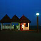 Kuwait Pier Snack Bar by Larry Costales