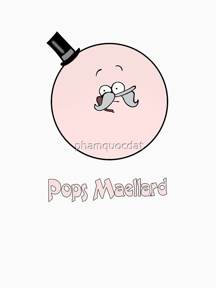 Regular show t_shirt cartoon, Pops Maellard by phamquocdat