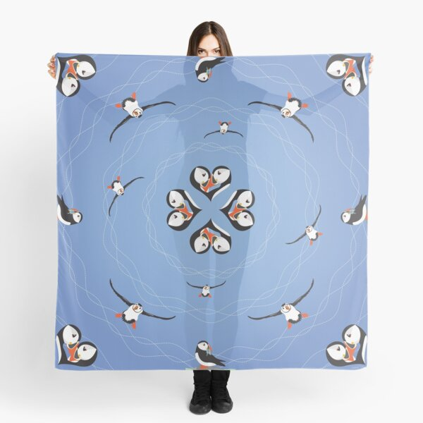 Puffins Galore Scarf