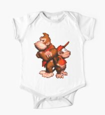 Donkey And Diddy One Piece - Short Sleeve