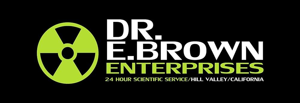 Back to the Future - Dr E Brown Enterprises by UnconArt
