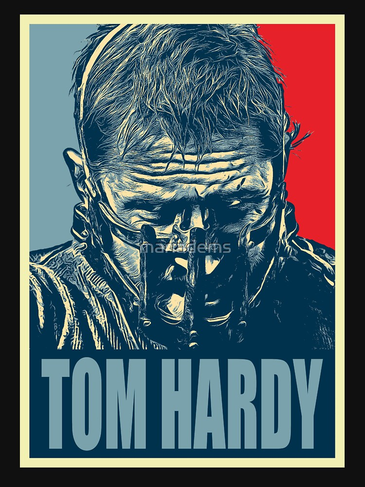 Tom Hardy by mariadems