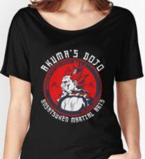 Akuma's Dojo - Street Fighter Women's Relaxed Fit T-Shirt