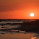 Sunset Yoga by James Stone