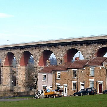 Eleven Arches Viaduct by hilarydougill