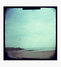 Deserted beach Photographic Print