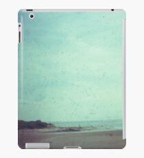 Deserted beach iPad Case/Skin