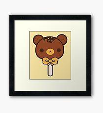 Chocolate Bear Framed Print