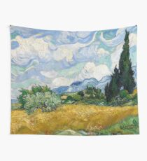 Wheat Field with Cypresses - Vincent van Gogh Wall Tapestry