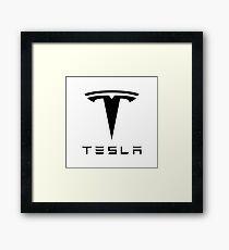 Tesla Motor Framed Print