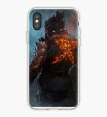 Akuma Street Fighter Poster Kanji iPhone Case