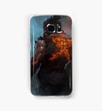Akuma Street Fighter Poster Kanji Samsung Galaxy Case/Skin