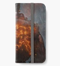 Akuma Street Fighter Poster Kanji iPhone Wallet/Case/Skin