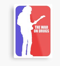 war on drugs Metal Print