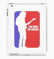war on drugs iPad Case/Skin
