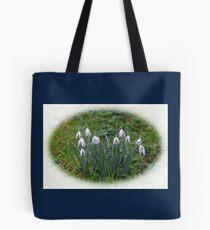 Tough little Snowdrops...........Lyme Dorset UK Tote Bag