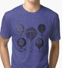 Hot Air Balloon Tri-blend T-Shirt