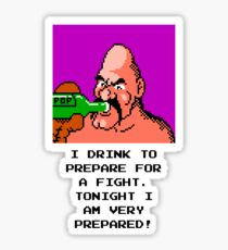 Punch Out - Soda Popinski Sticker