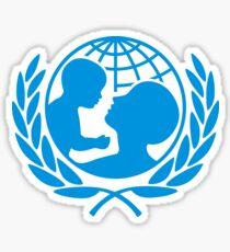 UNICEF Logo Sticker