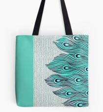 A very, very peacock Tote Bag