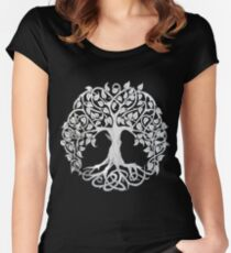 Tree of Life #1 Women's Fitted Scoop T-Shirt