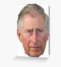 Prince Charles Greeting Card
