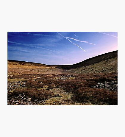 Moor & Sky Photographic Print