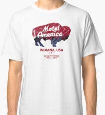 Motel America Distressed - american gods Classic T-Shirt