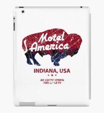 Motel America Distressed - american gods iPad Case/Skin