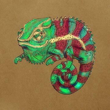 Chameleon version 2 by Jenji