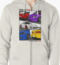 [R]aw Power Coloured Edition Zipped Hoodie